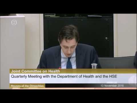Irish parliament Committee debate on fall in HPV vaccine uptake [09/11/2016]