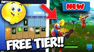 How To Get A FREE TIER in Fortnite Battle Royale Battle Pass Season 3 Update! *FORTNITE SECRETS* 😏
