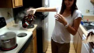 My Girlfriend Kills A Live Lobster!!!