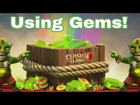 CLASH OF CLANS Hindi - How To USE/SPEND GEMS | Best Gemming Guide!