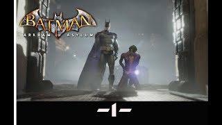 BATMAN RETURN TO ARKHAM -ARKHAM ASYLUM- #1