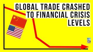 Global Trade DOWN To Financial Crisis Levels! Economic Meltdown and Inflation!