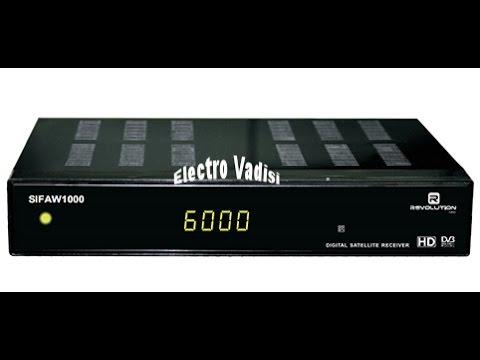 Revolution sifaw 1000 activation serveur et IPTV تفعيل السرفرات + تحذيث الجهاز