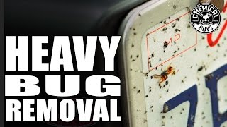 How To Remove Dead Bugs From A Car - Chemical Guys Bug And Tar Heavy Duty Car Wash Shampoo