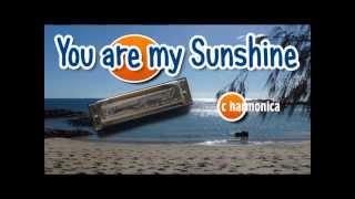 You Are My Sunshine Harmonica Tabs