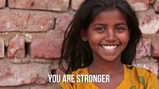 Stronger / Ata Gadol by Sarah Liberman (Official Lyric Video)