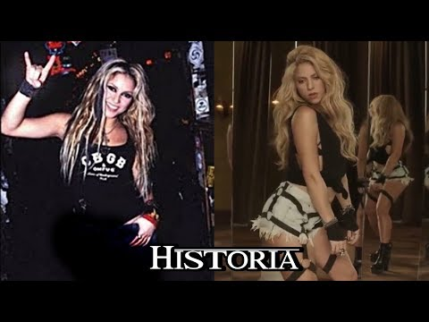 SHAKIRA de Rockera a reggaetonera-Pop | Historia