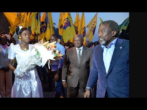 Arrivé et accueil du Pres. Joseph Kabila a Tshikapa