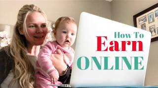 How To Earn Online - Make Money From Home Using a Simple System