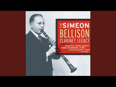 Clarinet Quintet In B Minor, Op. 115: Mvt. I: Allegro