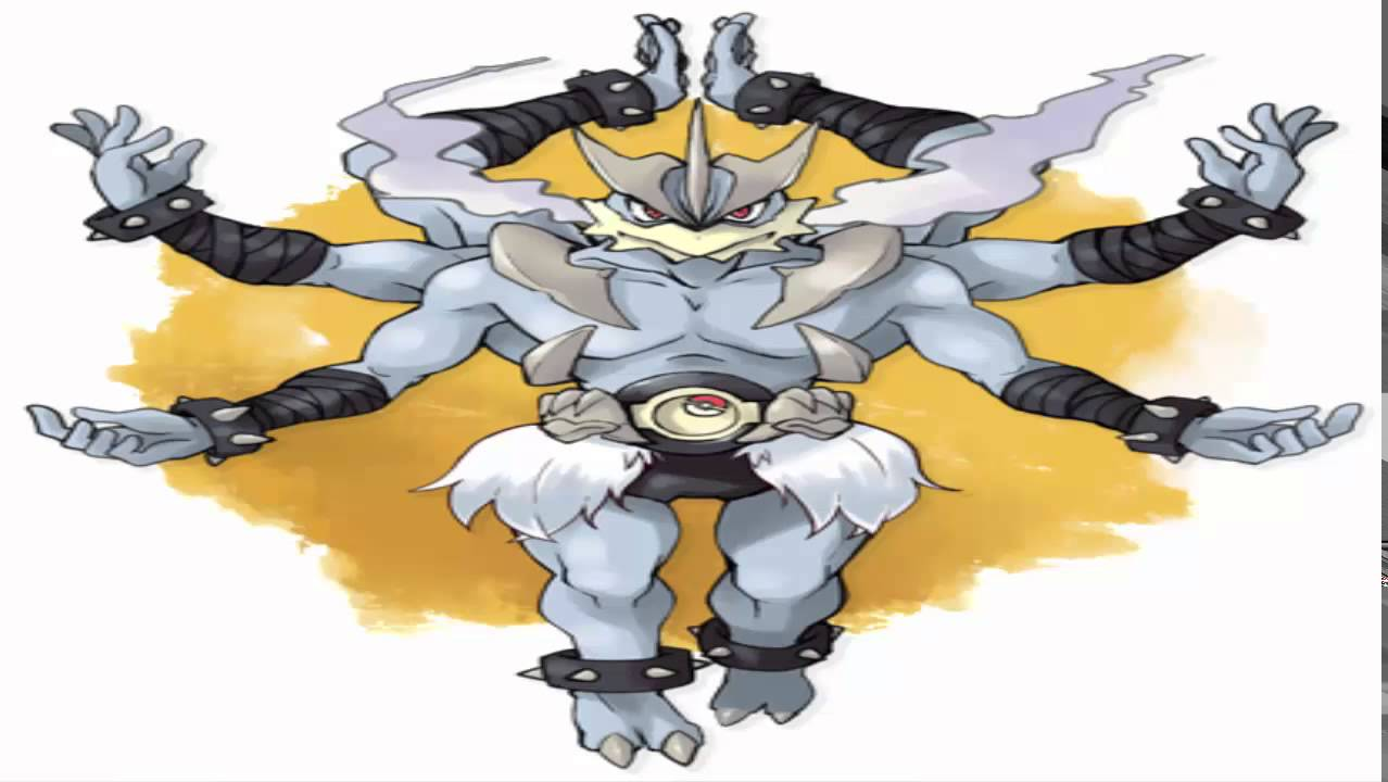 Mega Evolution Machamp mega machamp specuation? - youtube