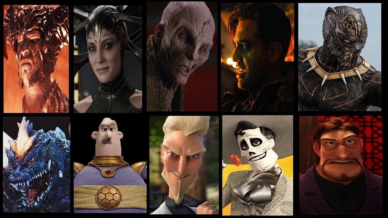 Defeats Of My Favourite Movie Villains Part IX