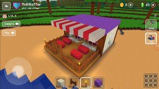 Block Craft 3D : Building Simulator Games For Free Gameplay #140 (iOS & Android)   Restaurant screenshot 4