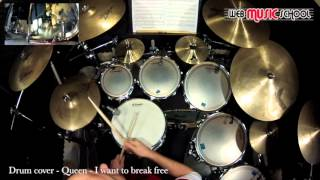 Queen - I Want To Break Free - DRUM COVER
