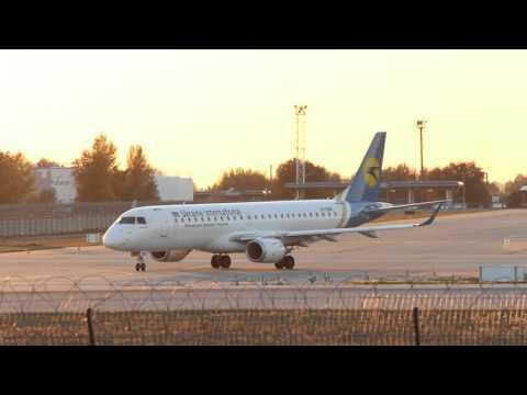 Sunset Arrivals at Kiev Boryspil International Airport / Ukraine (KBP/UKBB) planespotting at 1080p