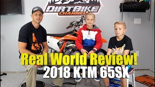 2018 KTM 65SX Full Review For Riding Trails and Off Road