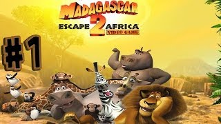 Madagascar: Escape 2 Africa - Walkthrough - Part 1 - In Madagascar (PC) [HD]