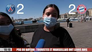 Le 18:18 - Êtes-vous PSG ou Bayern ? Sur le Vieux-Port de Marseille, les avis sont partagés...