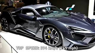 Top 10 Most Expensive Cars In The World 2021/2022