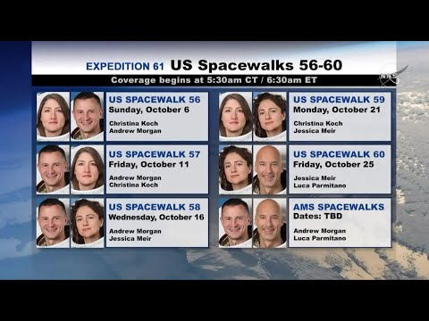 NASA's Spacewalk 'Bonanza' Includes 1st All-Female Spacewalk