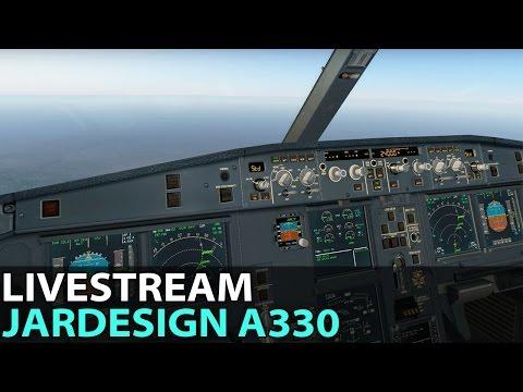 [Livestream] A Night of Heavy Online Traffic, JAR Design A330 on PilotEdge ✈️ 2017-01-22