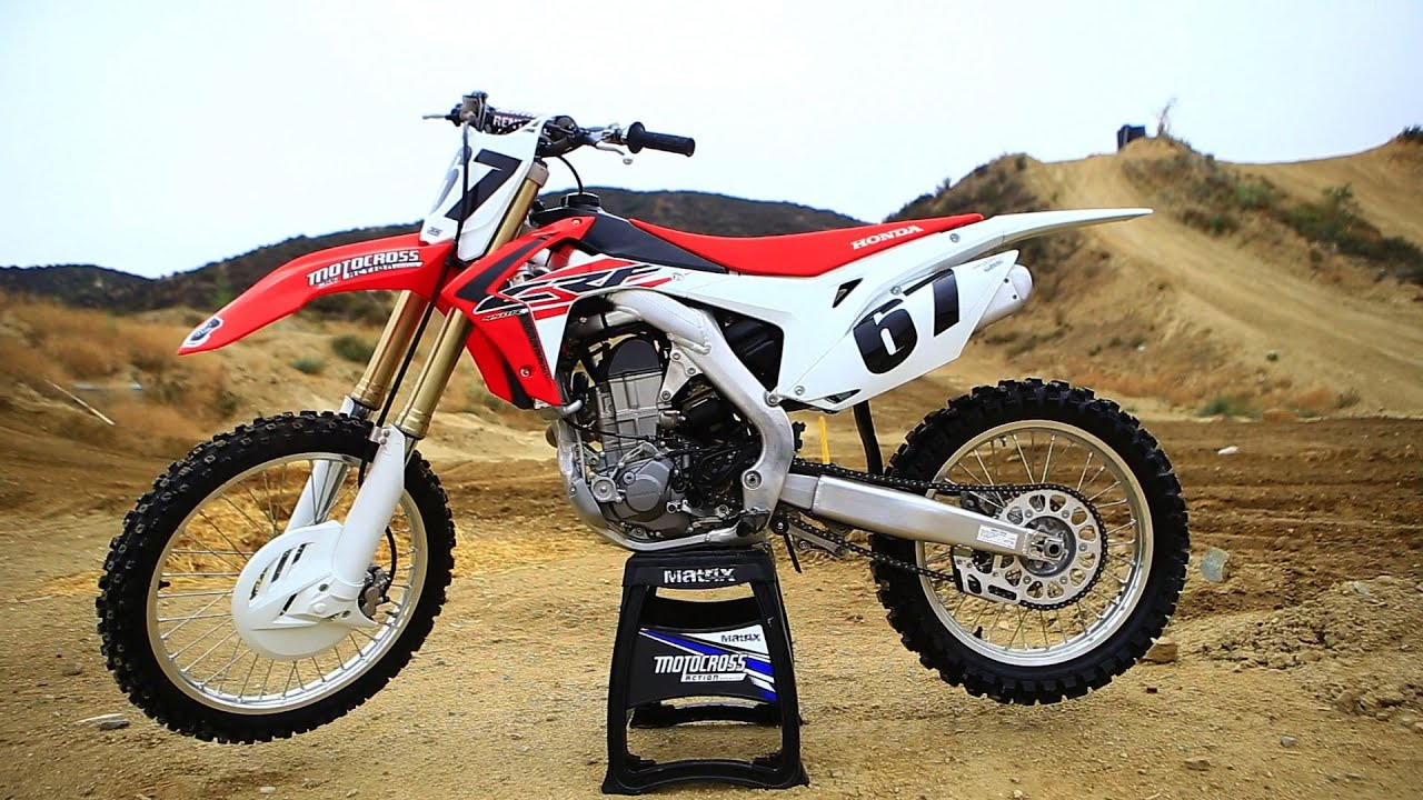 First Ride 2016 Honda CRF450 - Motocross Action Magazine - YouTube