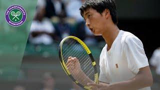 Match Point: Shintaro Mochizuki vs Carlos Gimeno Valero Junior Wimbledon 2019 final