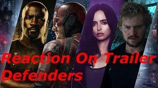 Моё мнение и реакция на трейлер Защитники (Reaction On Trailer Defenders)