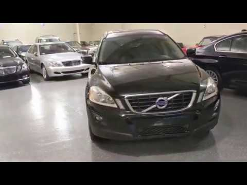 2010 Black /Off-Black Leather Volvo XC60 AWD (YV4982DZXA2) with an 3.0L L6 DOHC 24V TURBO engine, 6-Speed Aut transmission, located at 603 Amelia Street, Plymouth, MI, 48170, (734) 459-5520, 42.378841, -83.464546 - Photo #0