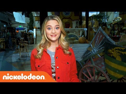 Lizzy Greene Gives You an  Sneak Peek of Knight Squad! 🛡️  Nick