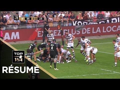 TOP 14 - Résumé  Brive-La Rochelle: 10-19 - J1 - Saison 2017/2018