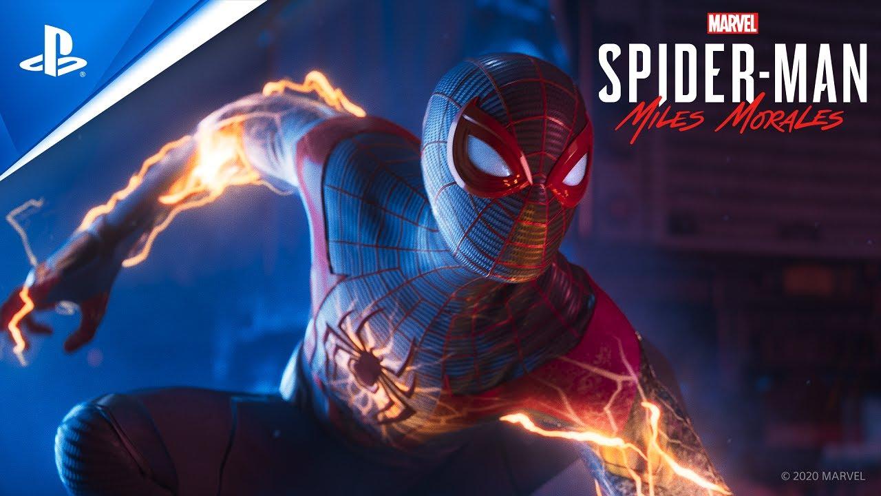 『Marvel's Spider-Man: Miles Morales』CGトレイラー