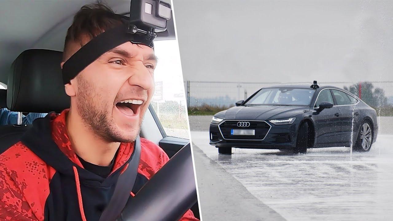 Zkusil jsem si Školu Smyků! | Naboural jsem svoji Audi A7?