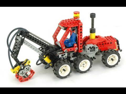 Lego Technic 8443 Pneumatic Log Loader Instructions With Part List