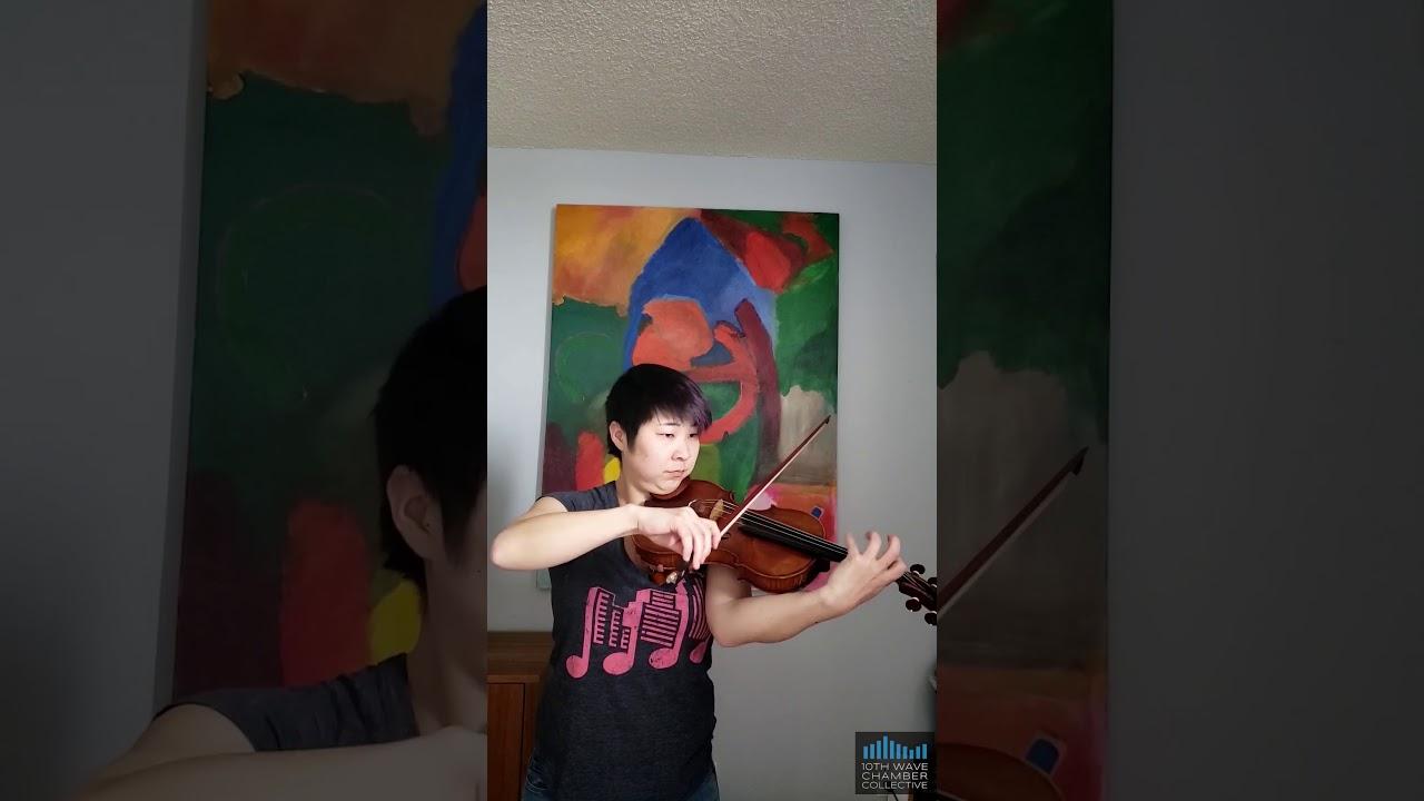 Sonata for Solo Violin Mvt I by Miklós Rózsa