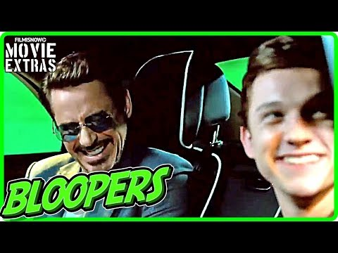 SPIDER-MAN: HOMECOMING Bloopers & Gag Reel [Digital/Blu-Ray/DVD 2017]