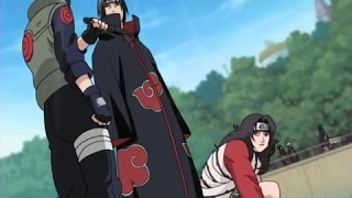 Itachi and Kisame vs Kakashi, Kurenai and Asuma