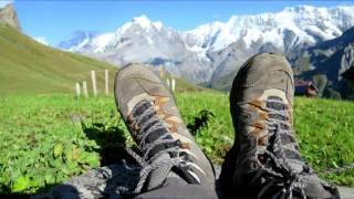 Hiking in Bernese Alps - Switzerland