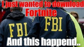 How to download Fortnite for free (FBI open up) Meme