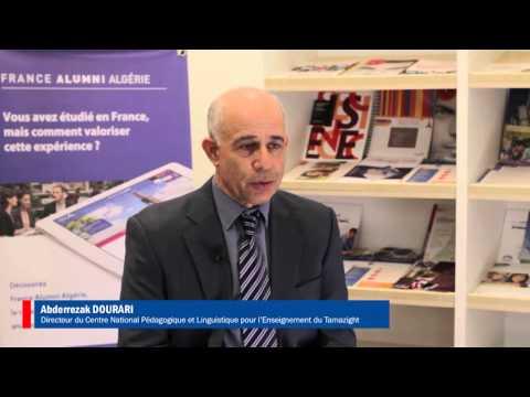 Témoignages d'anciens étudiants algériens en France - Lancement de France Alumni Algérie