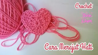 Download Video (Crochet) Cara Merajut Hati 💖 MP3 3GP MP4