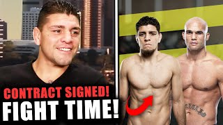 Nick Diaz REACTS to fighting Robbie Lawler at UFC 266! Dana White, Poirier fight kit onsale for $22K