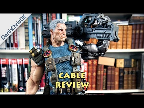 Review: Cable 1:4 Scale Statue (XM Studios)