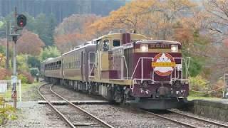 20181107わたらせ渓谷鉄道