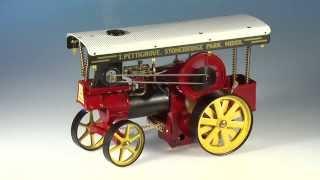 Wilesco D409 Showmans Engine (D)