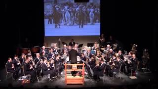 Mars van het Koninklijk Escorte (Roland Cardon) - Nieuwjaarsconcert 2016 Kon. Gem. Harmonie Koksijde