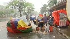 Philippines battered by Typhoon Rammasun