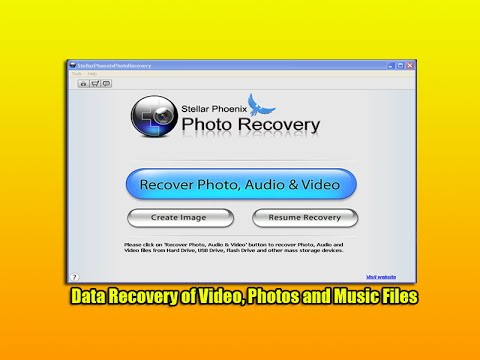 Data Recovery of Video, Photos and Music Files