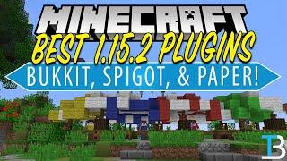 Top 5 Best Plugins For Your Minecraft 1 15 2 Server Best Plugins For Bukkit Spigot Youtube