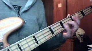 JUST MY IMAGINATION (Bass Cover)